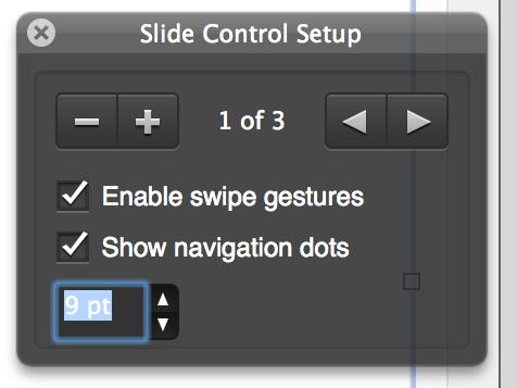 FileMaker Pro 13: Slide Control Setup