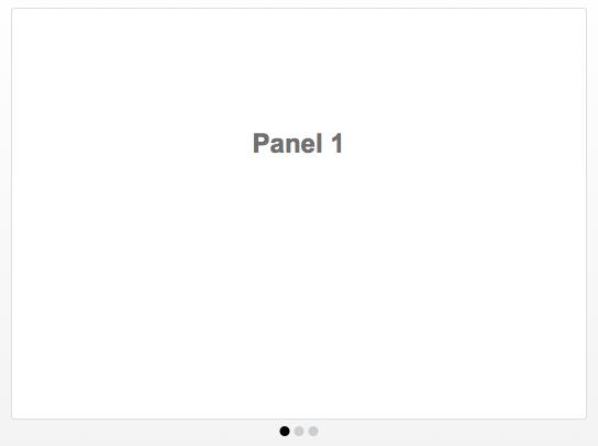FileMaker Pro 13: Panel Navigation Dots