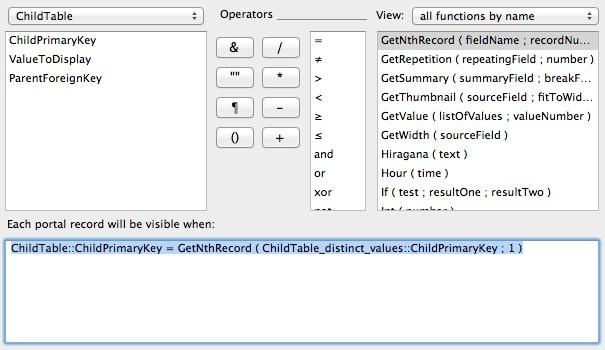 3_Show_Distinct_Values_Portal_Filter