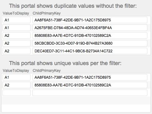 4_Show_Distinct_Values_Technique_Portal