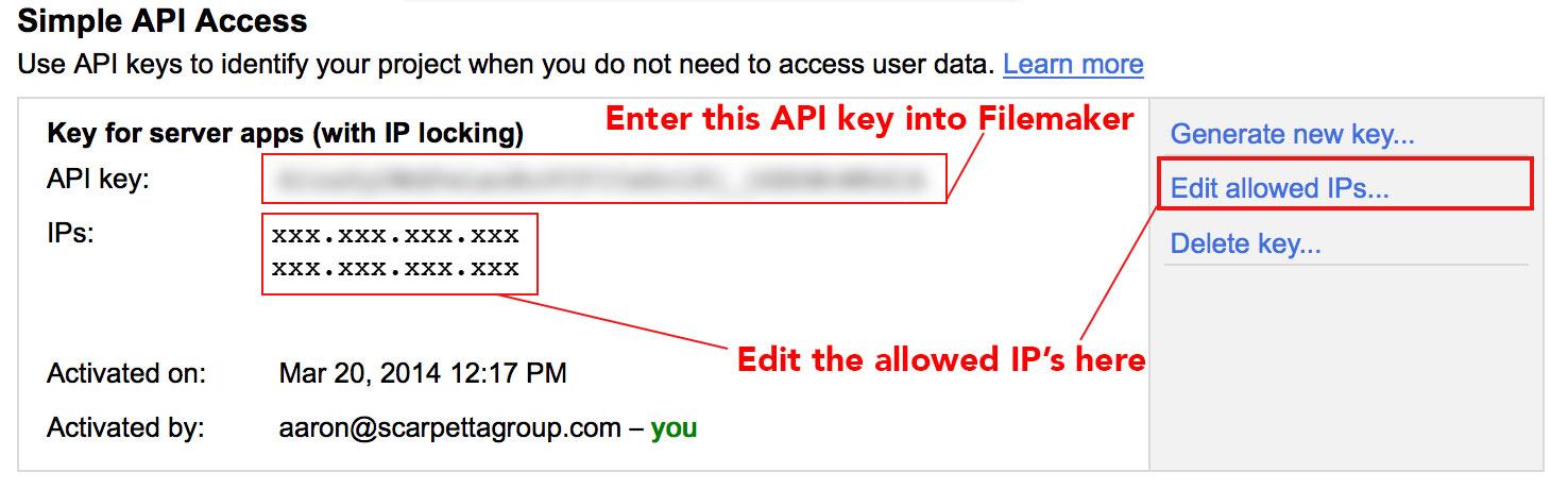 how to create a php api