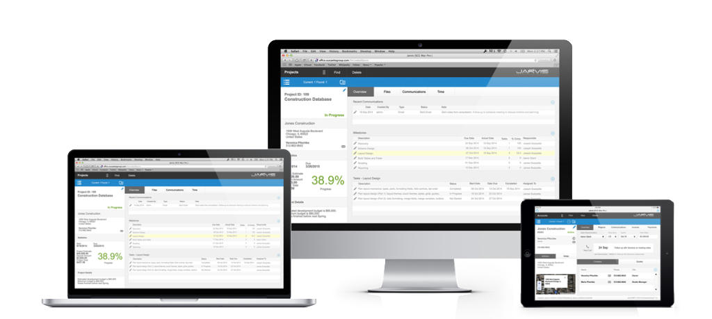Jarvis CRM Custom Built Software