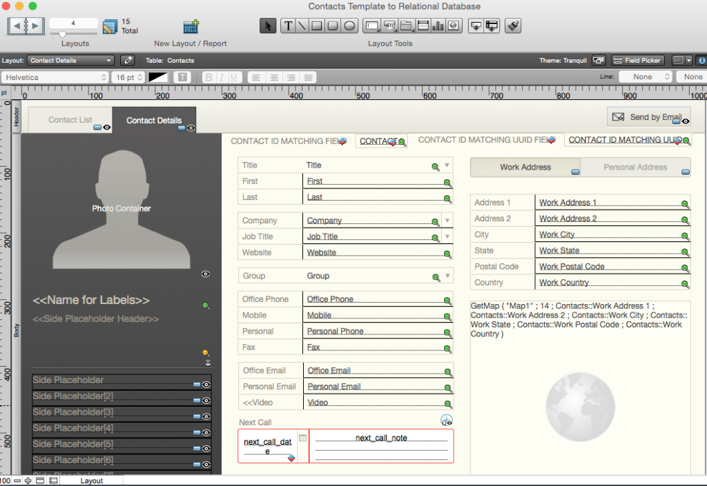 filemaker pro 12 templates - from starter solution to relational database the