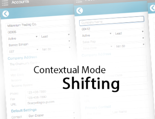 Contextual Mode Shifting – It's a Thing! – Technique.