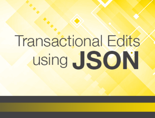 JSON Transactional Edits in FileMaker 16