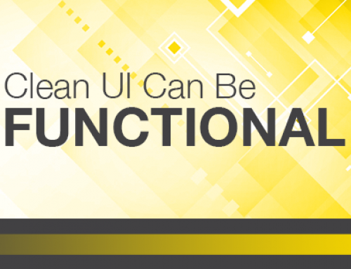 Clean UI Can Be Functional