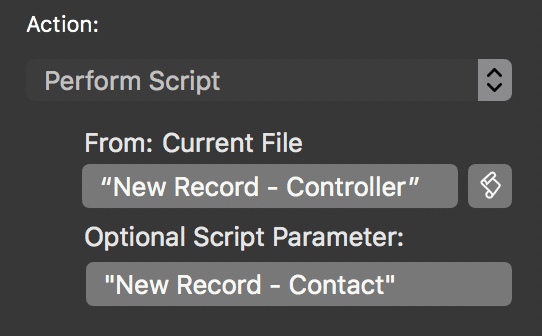 Perform Script by Script Name in FileMaker® 17 - The Scarpetta Group