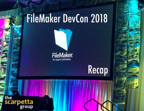 FileMaker DevCon 2018 Recap