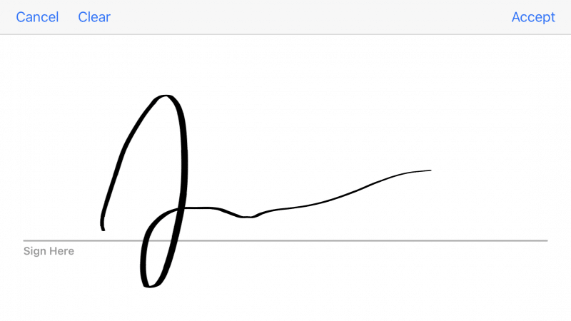 Signature capture on FileMaker