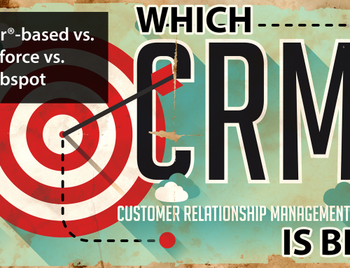 FileMaker®-based vs. Salesforce vs. Hubspot — Which CRM is Best?