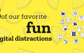 5 of our favourite fun digital distractions